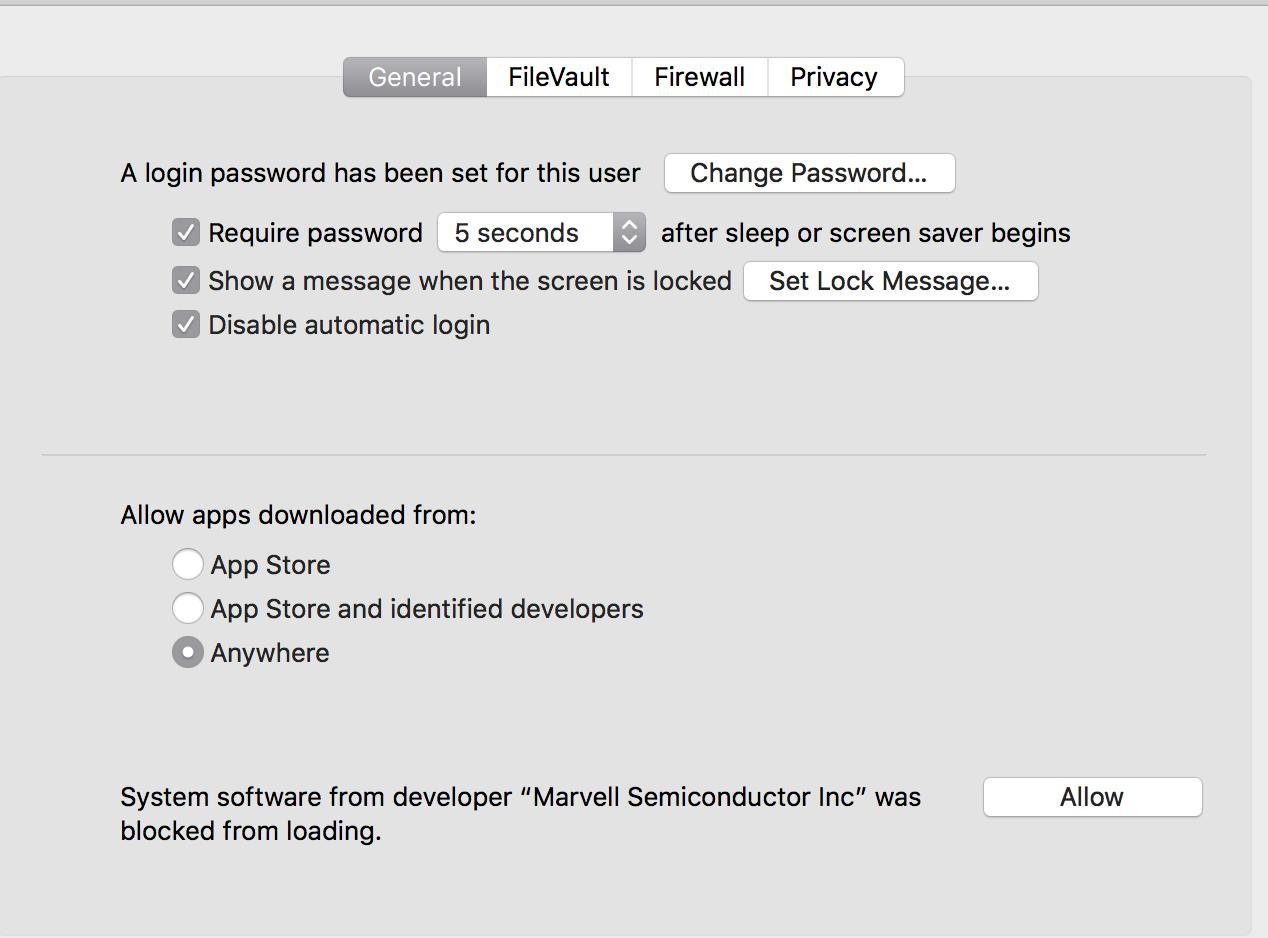 system software from developer marvell se… - Apple Community