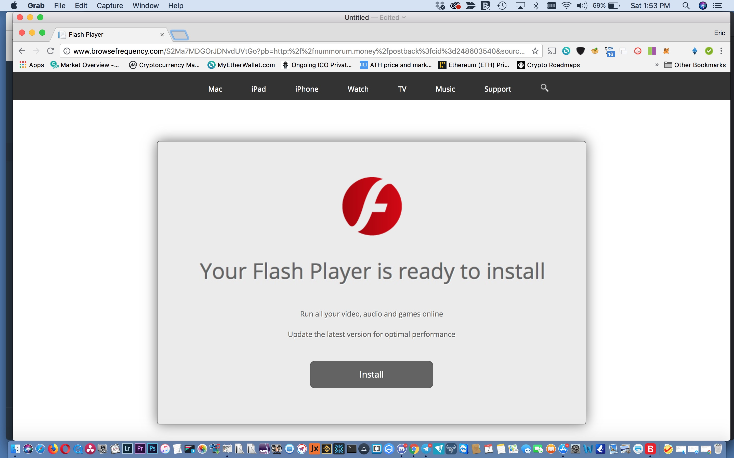 How to remove malware from fake flash upd… - Apple Community