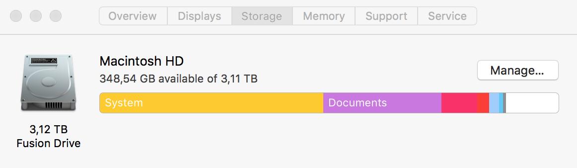 System storage is REALLY big - Apple Community