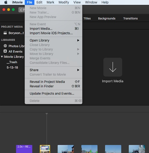 Changing aspect ration in iMovie from 16:… - Apple Community