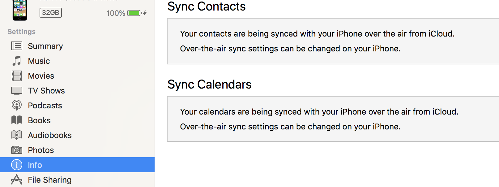 How to sync contacts from iPhone to Mac without iCloud