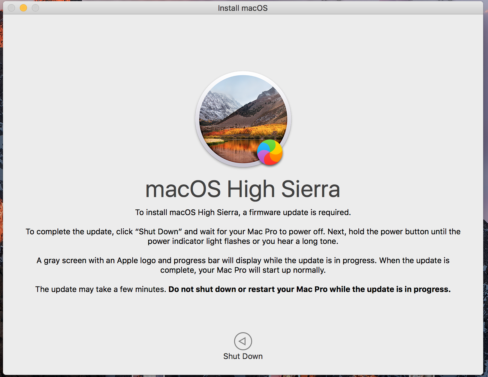 Mid-2010 MacPro not upgrading to HighSier… - Apple Community