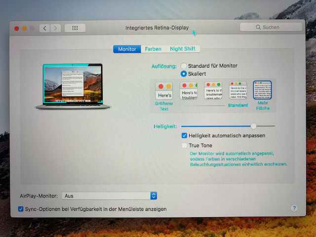 Weird display errors when using internal … - Apple Community