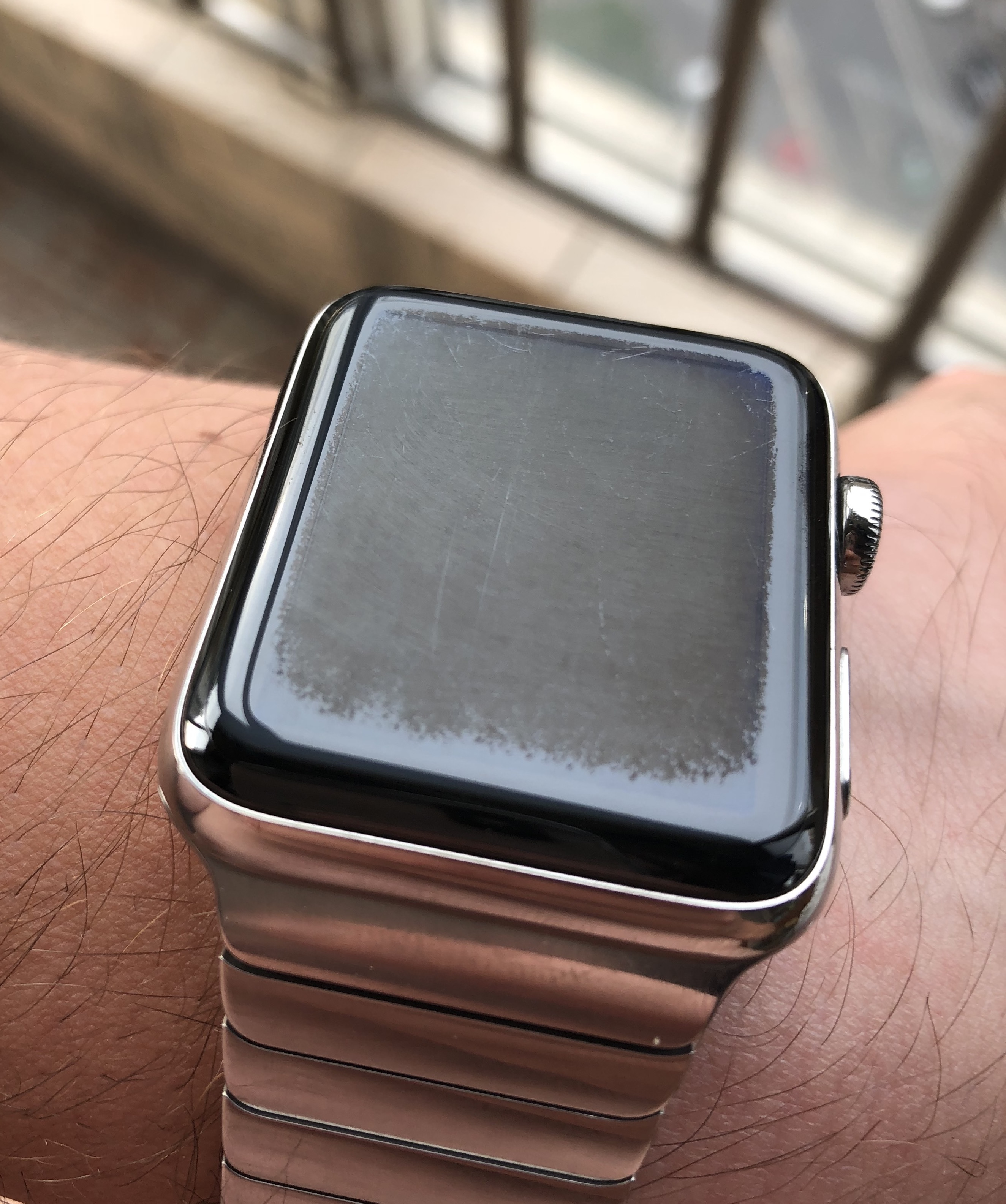 Apple Watch S3 lost the oleophobic coating - Apple Community