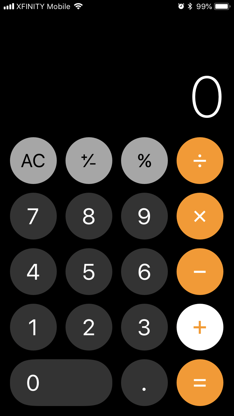 Calculator Freezes My Phone