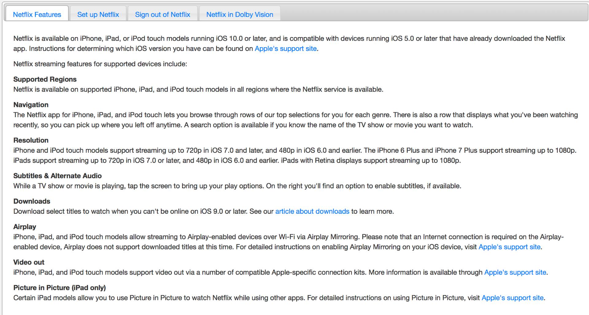 cant download netflix on ipad ios 9.3.5