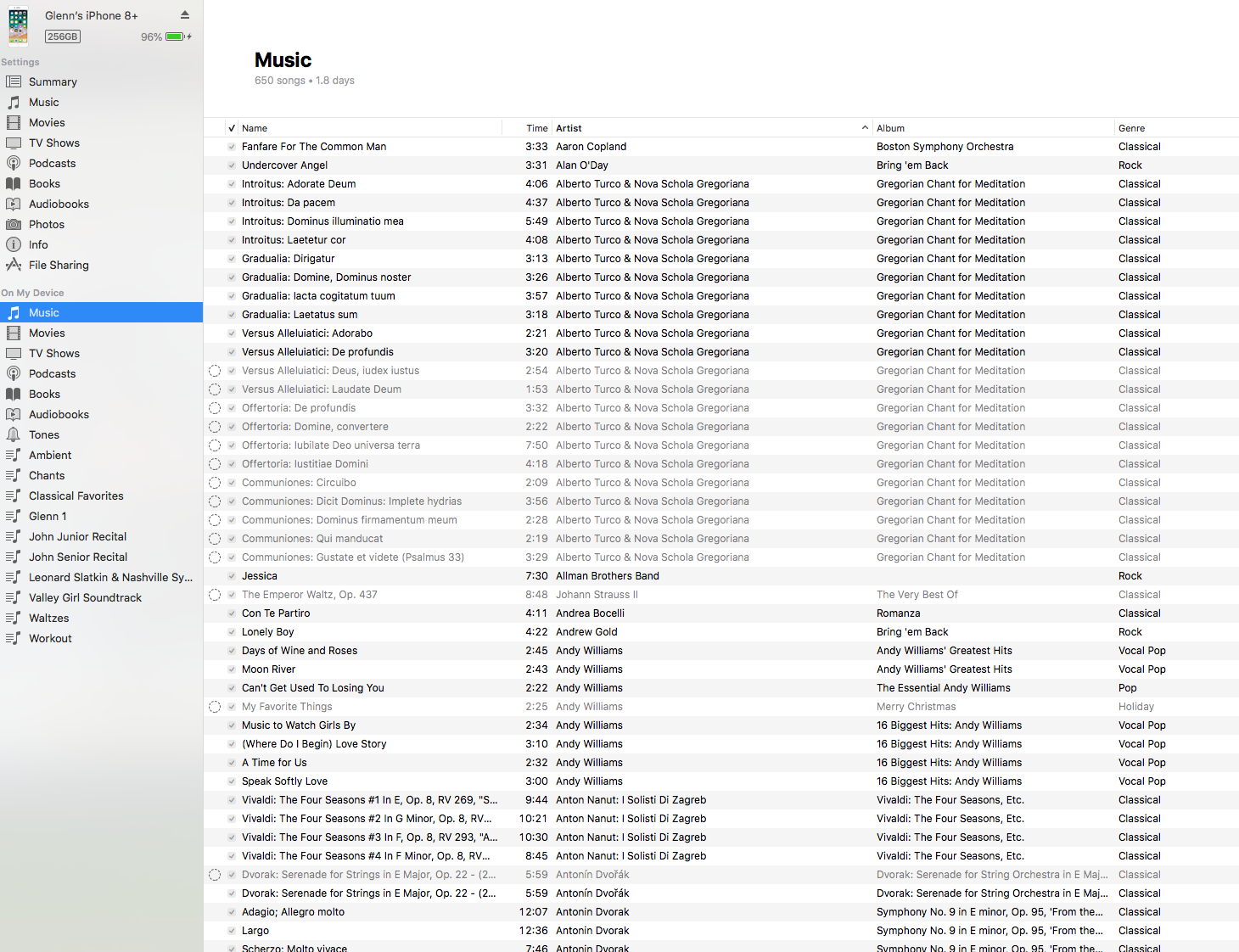Songs Grayed Out In iTunes 12 8 0 150 - Apple Community