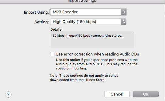 Create Mp3 Version greyed out in Itunes - Apple Community