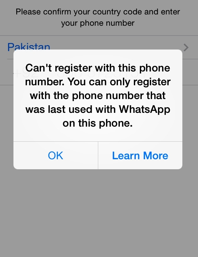 Can't register with this number  Can … - Apple Community