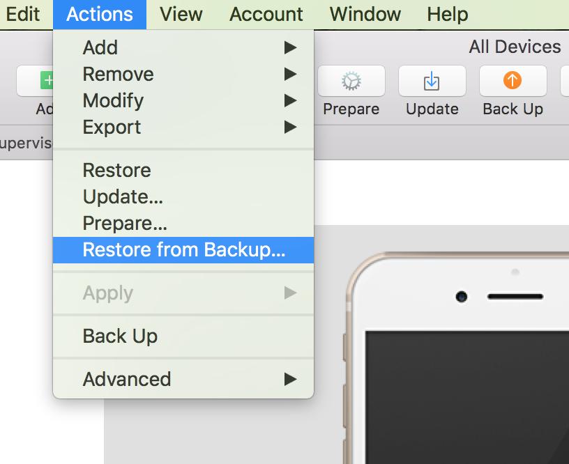 Backup iphone via itunes - Apple Community