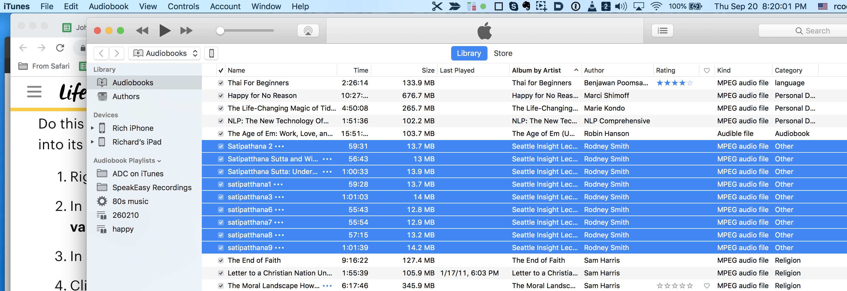 Why aren't my audiobooks syncing to m… - Apple Community