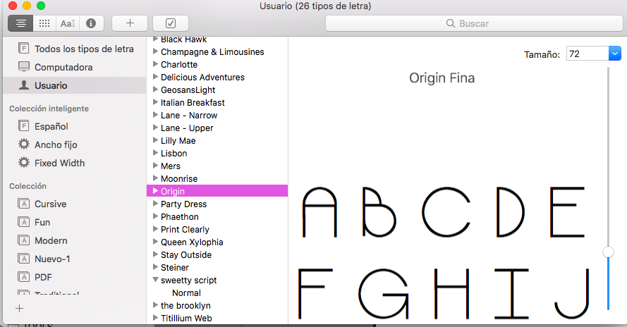 Font installation - Apple Community