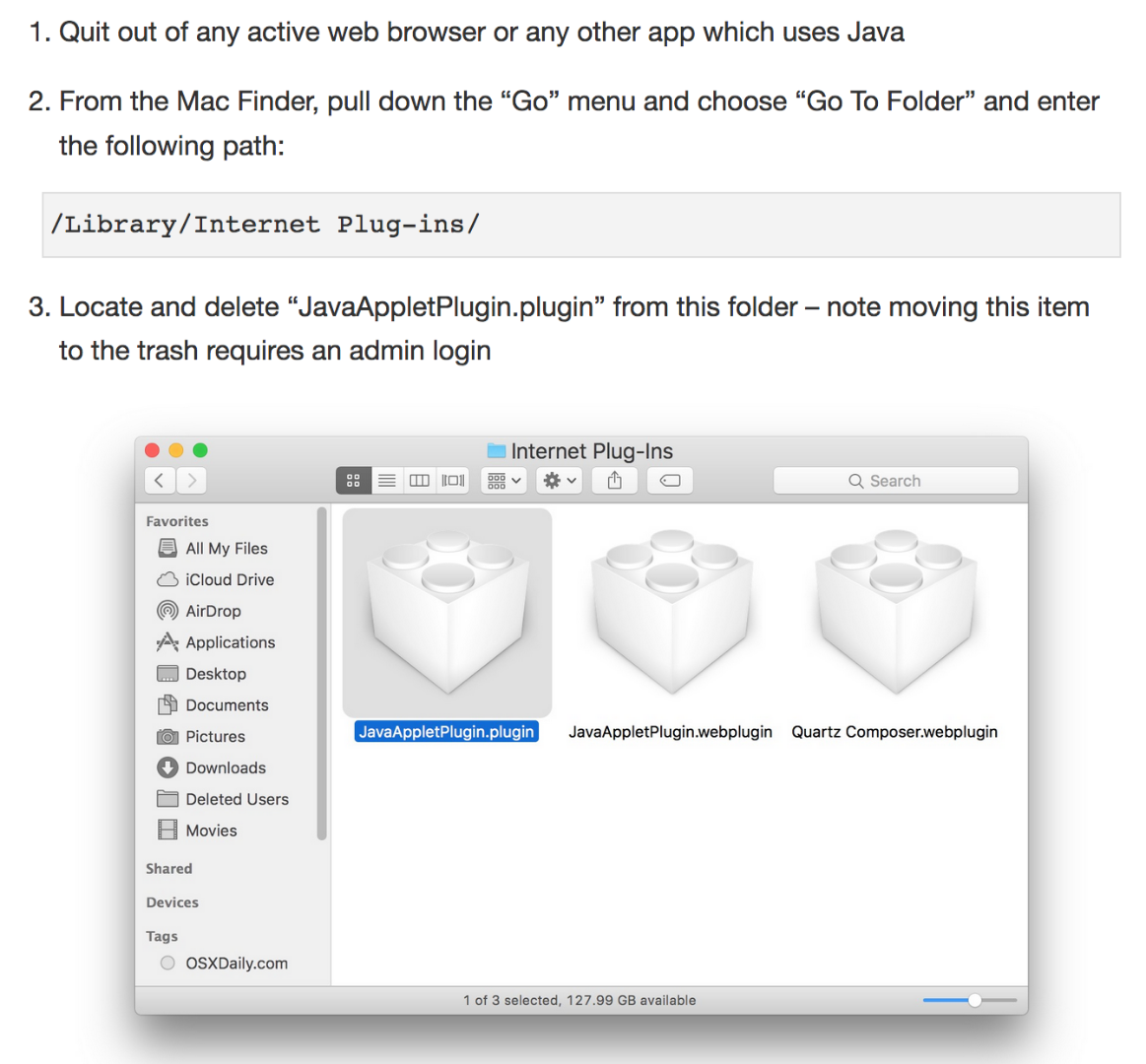 Can't install legacy Java 6 bc 'a… - Apple Community