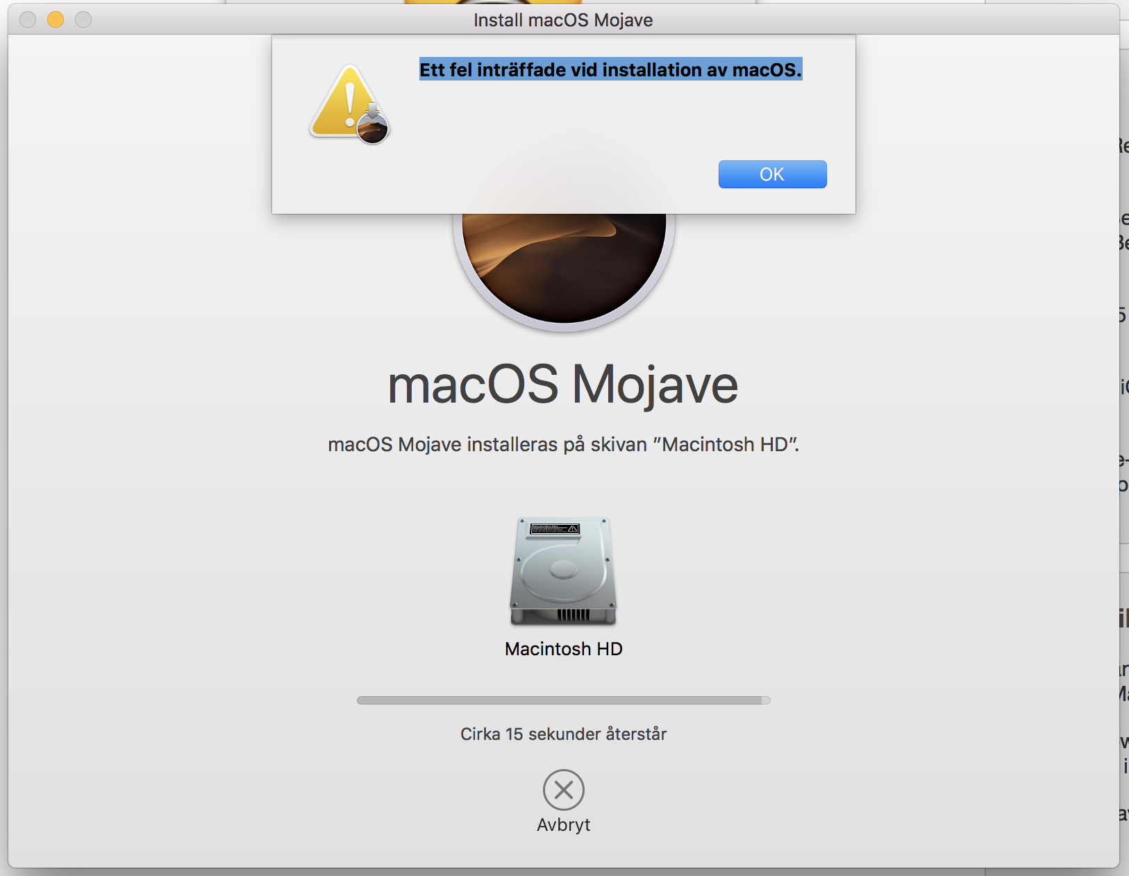 Problems upgrading to macOS Mojave on Mac… - Apple Community