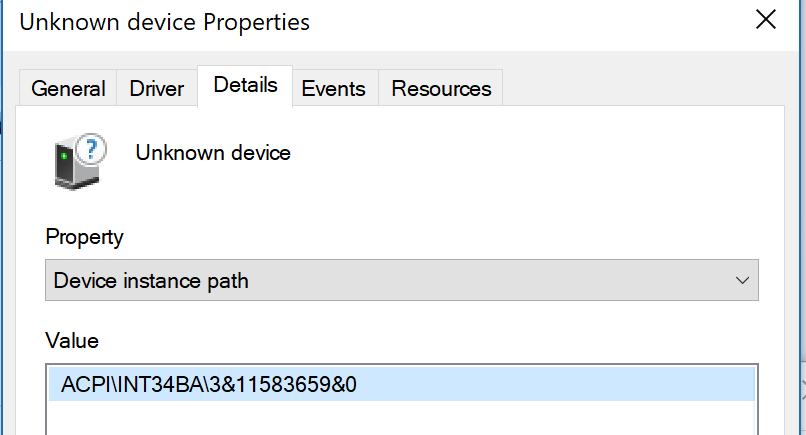 Boot Camp: Unknown device in device manag… - Apple Community