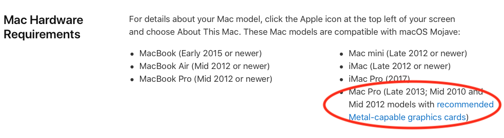 Mojave not compatible with AMD Radeon HD … - Apple Community