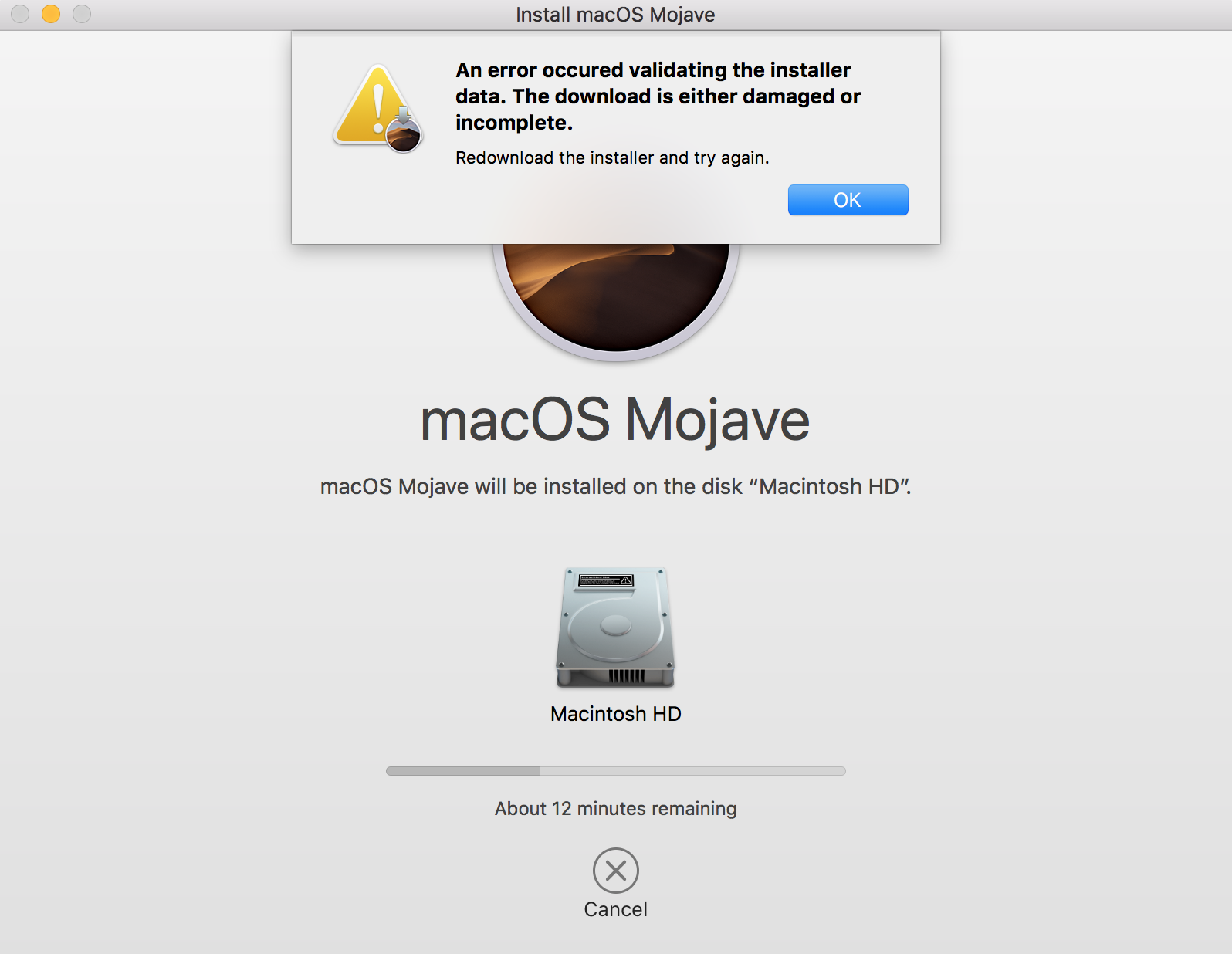 install mojave from usb macbook pro 2018