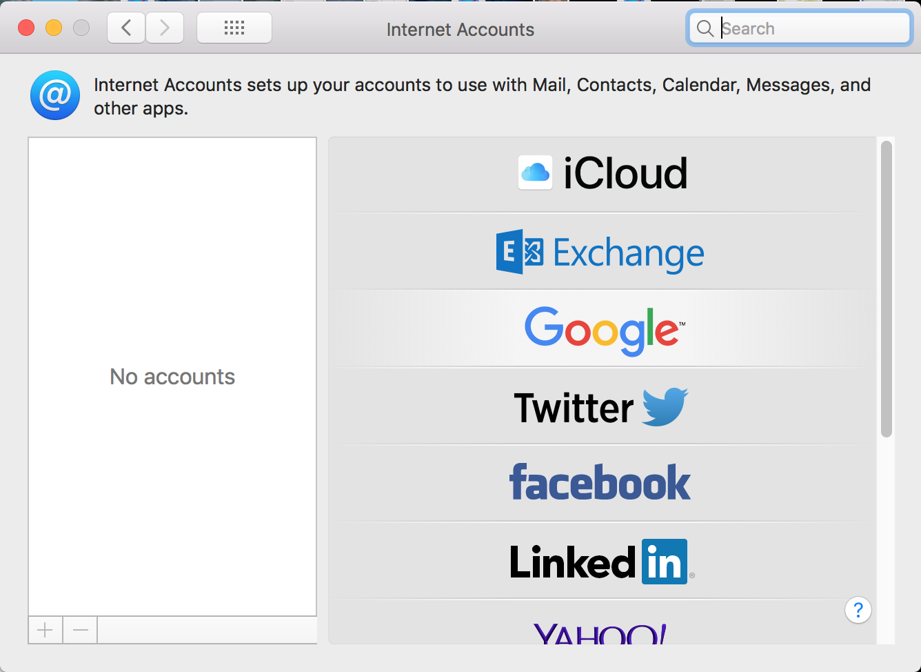 All Internet Accounts disappeared after M… - Apple Community