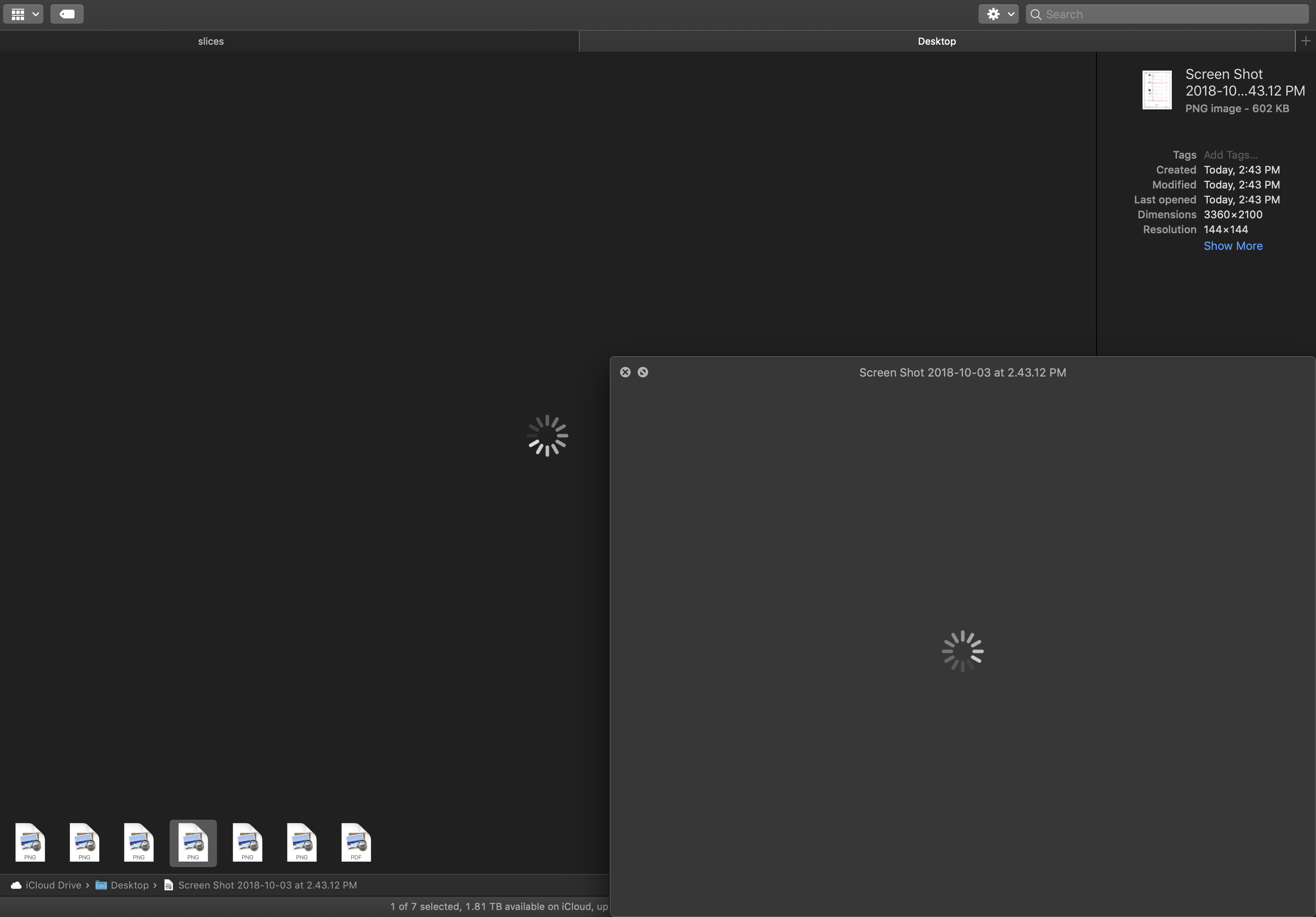 No preview for file thumbnails • Mojave - Apple Community
