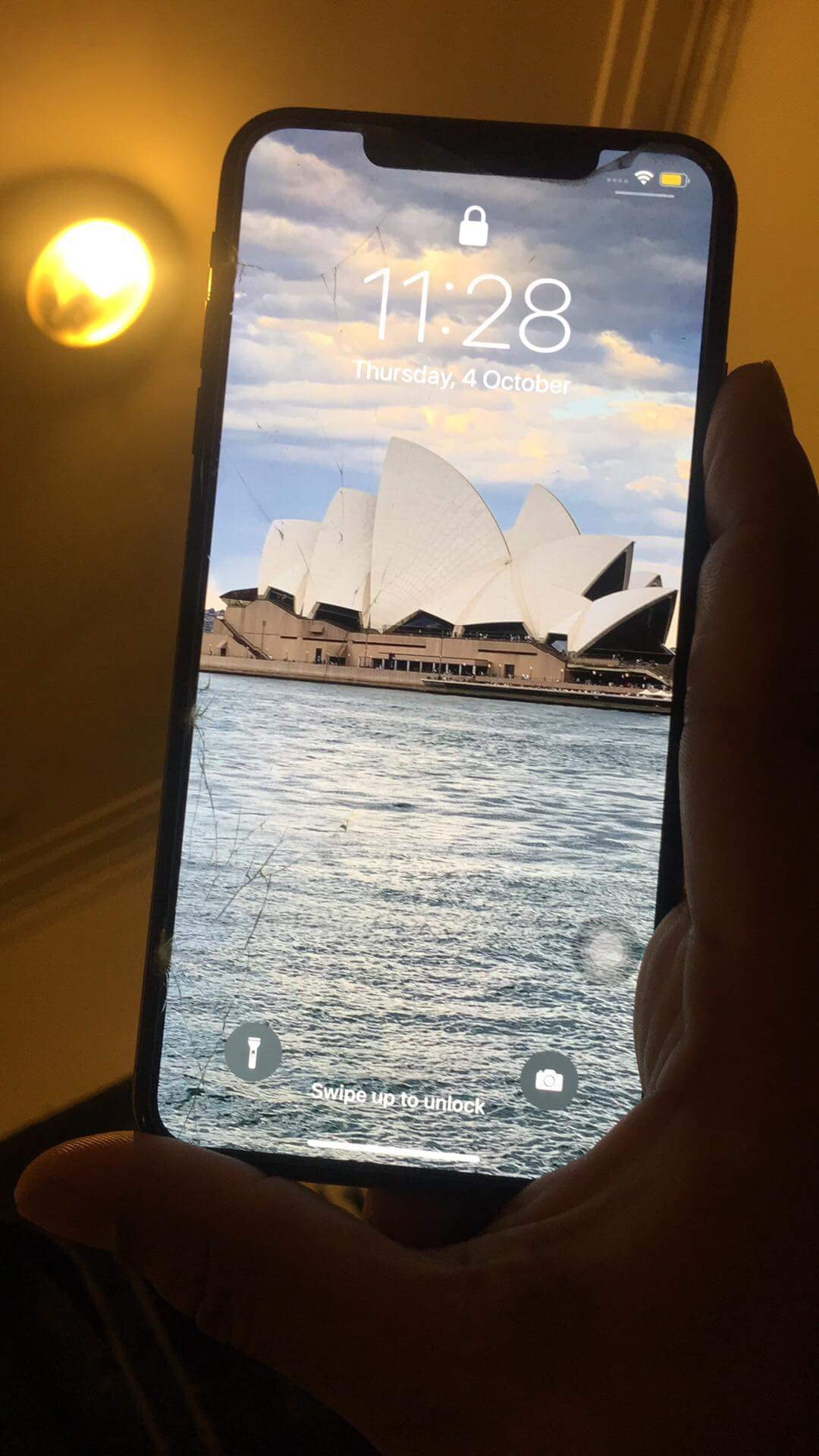 I dropped my new iphone xs max and screen… - Apple Community