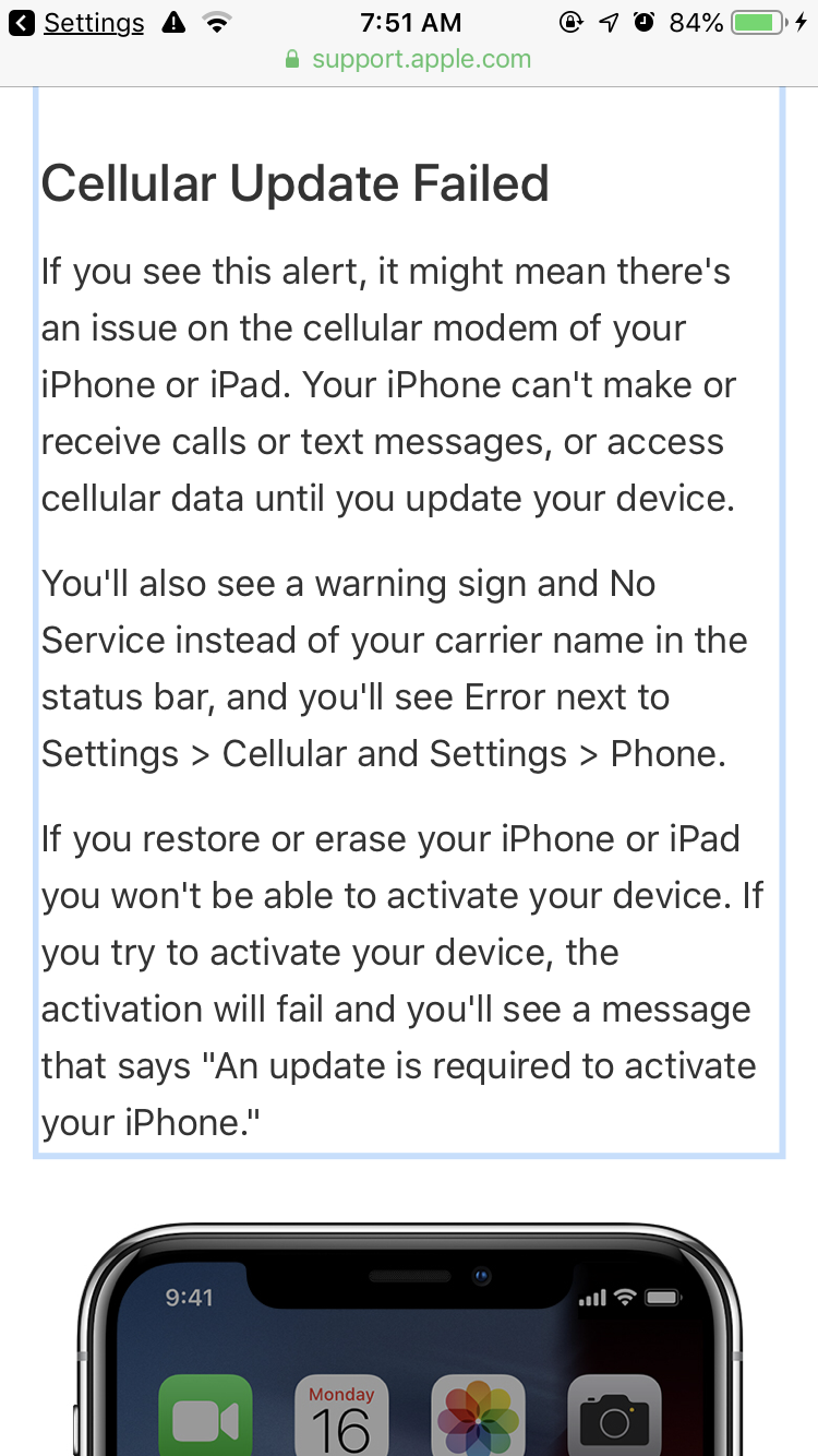 Why is my phone saying no service but is … - Apple Community