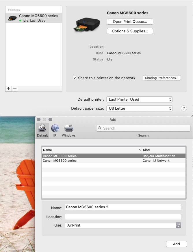 Canon Pixma MG5620 printer/scanner - scan… - Apple Community