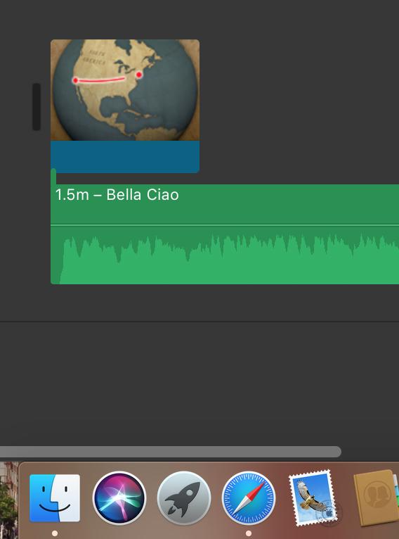 How to crossfade songs on iMovie ? - Apple Community