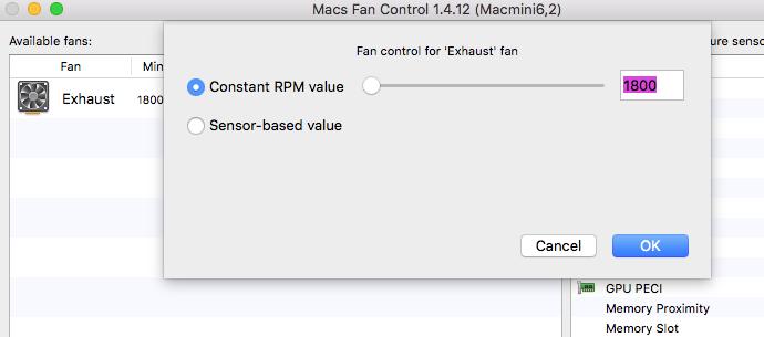 Does my mini mac have a cooling fan - Apple Community