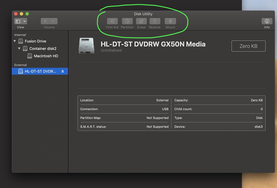 External DVD drive not working post-Mojav… - Apple Community