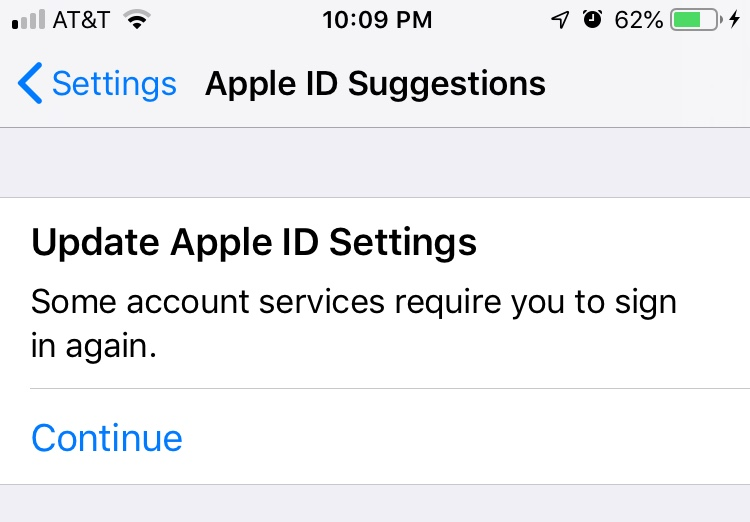 My device keeps asking me to log into my … - Apple Community