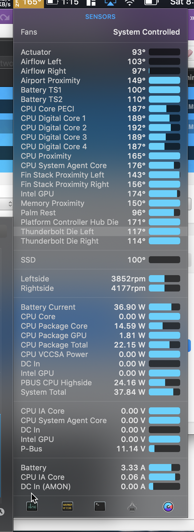 Macbook Pro 2018 overheating, and other s… - Apple Community