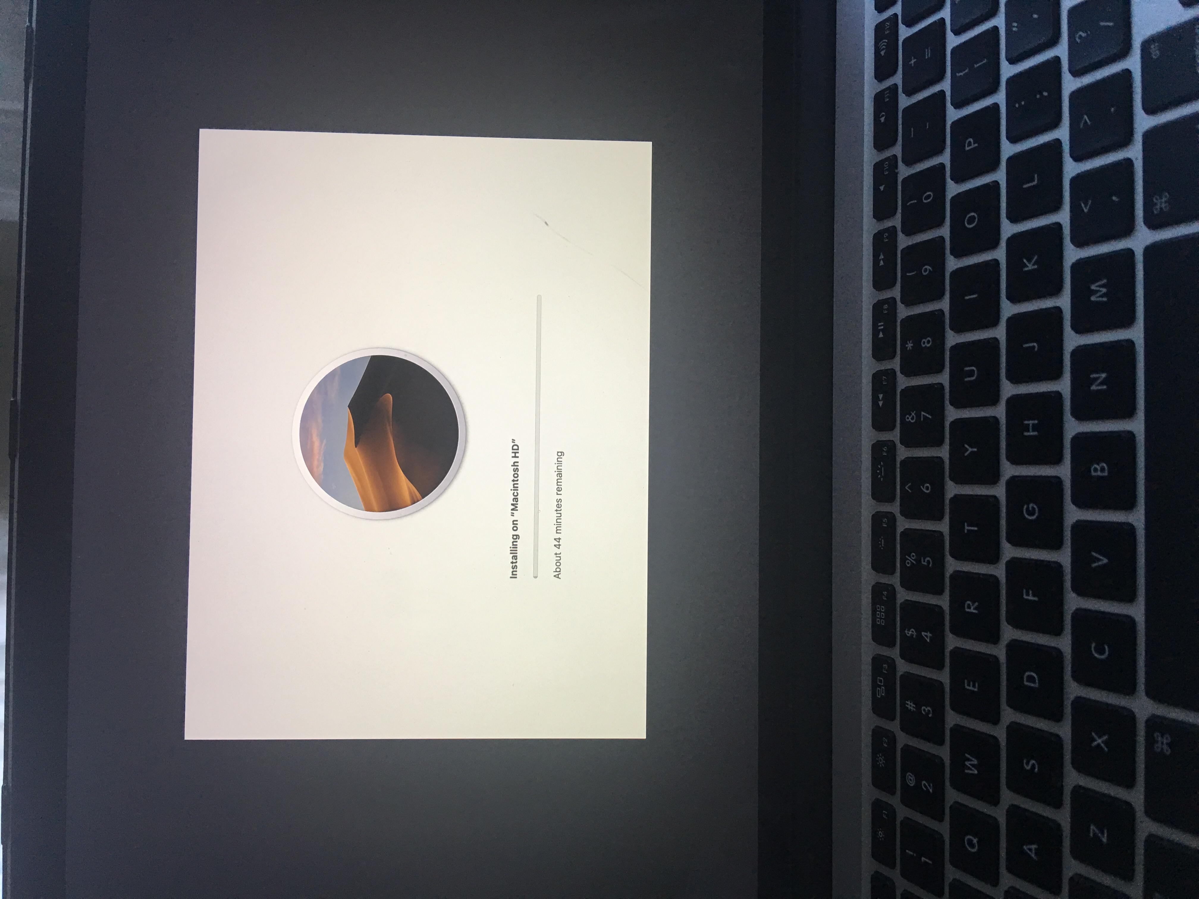 Mojave 10 14 1 update stuck on installing - Apple Community