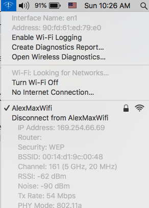 wi-fi has the self-assigned ip address an… - Apple Community