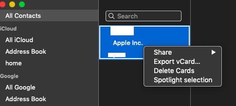 Mojave synced all LinkedIn Contacts - Apple Community