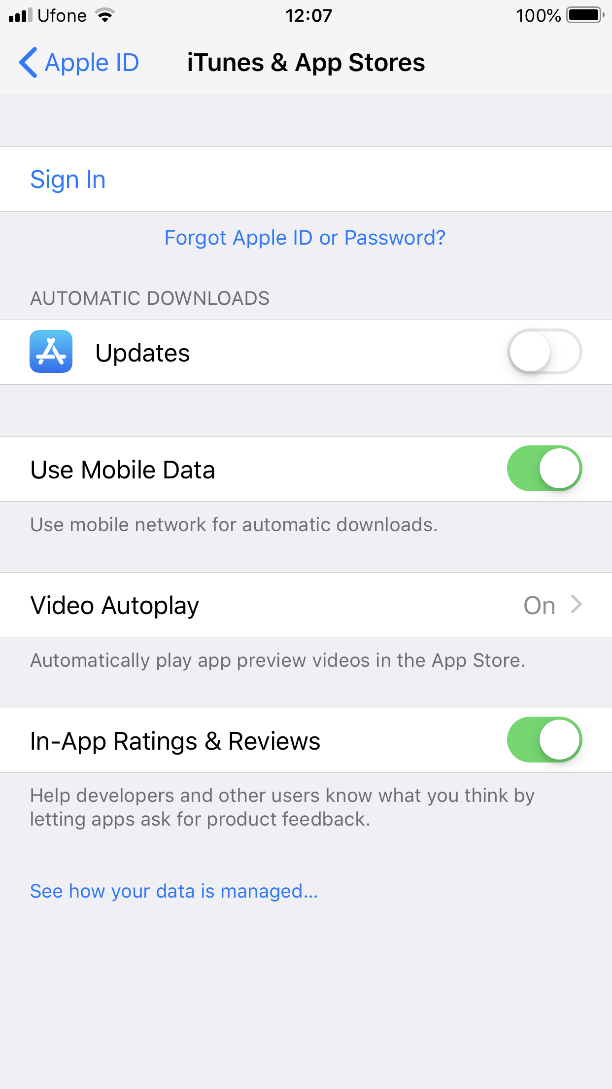 Can't log into app store or itunes ev… - Apple Community