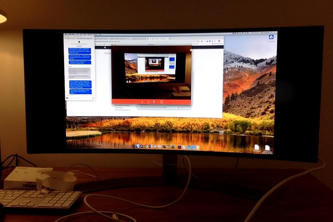 Macbook Air Not Filling LG Ultrawide Moni… - Apple Community