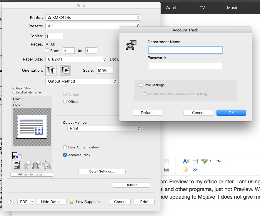 Issues with printing PDF from Preview sin… - Apple Community