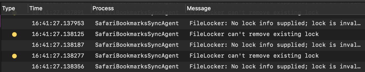 iMac safari 12 0 1 - unable to delete fav… - Apple Community
