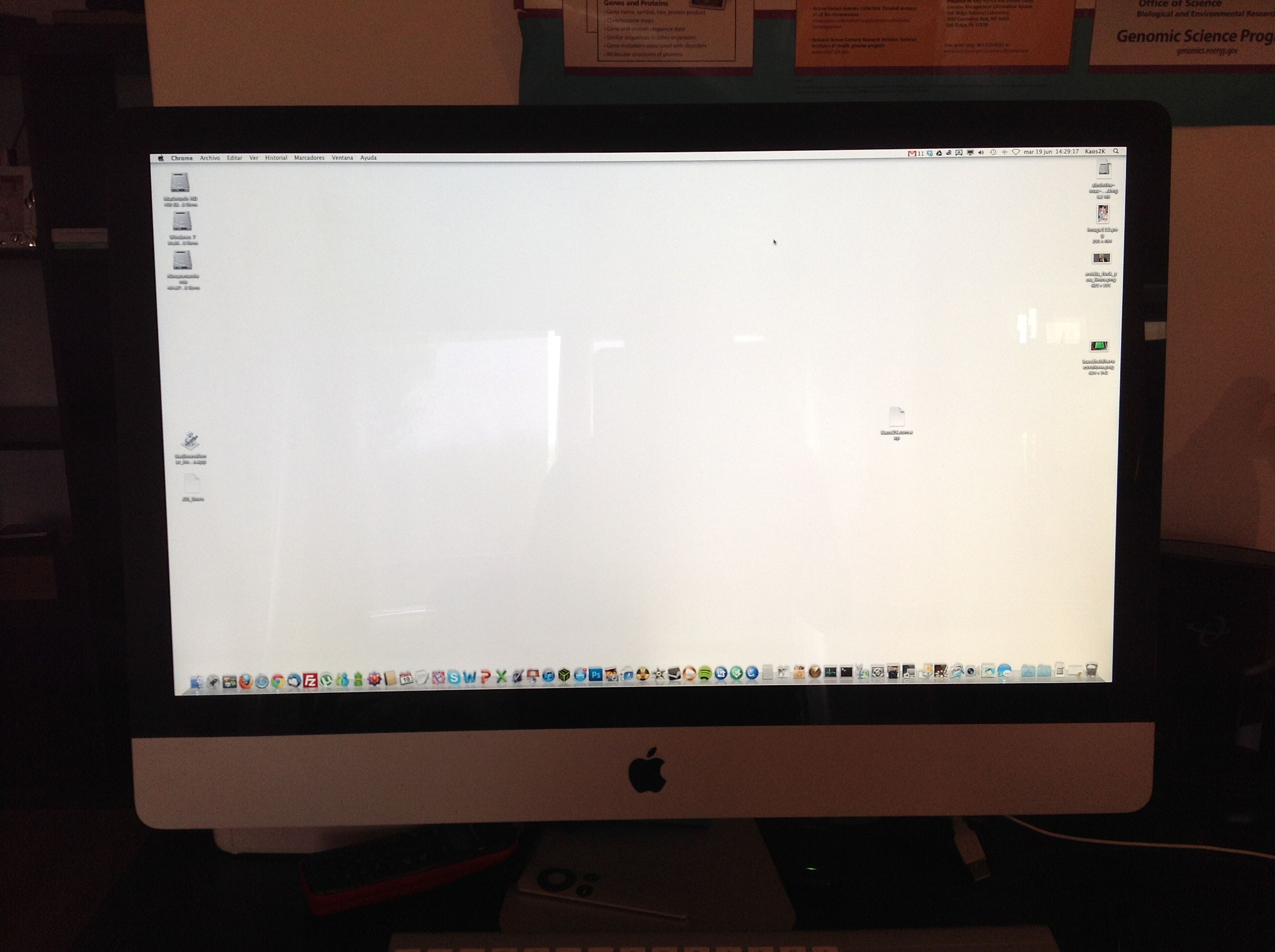 GUIDE] Fix iMac flickering and dark scre… - Apple Community