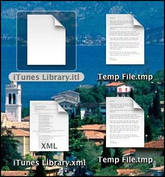 iTunes Library itl file, and temp files a… - Apple Community
