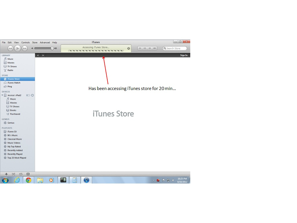 Cannot connect to iTunes store on PC, una… - Apple Community