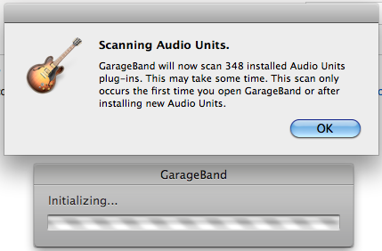 Scanning Audio Units Pop Up Prompt every … - Apple Community