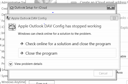 Apple Outlook DAV Config is not working - Apple Community