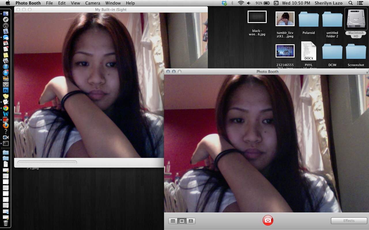 Why Is Only Photo Booth Is Blurry And Zoo Apple Community