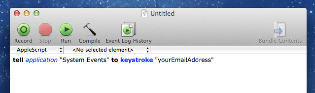 Can I use automator to type text? - Apple Community