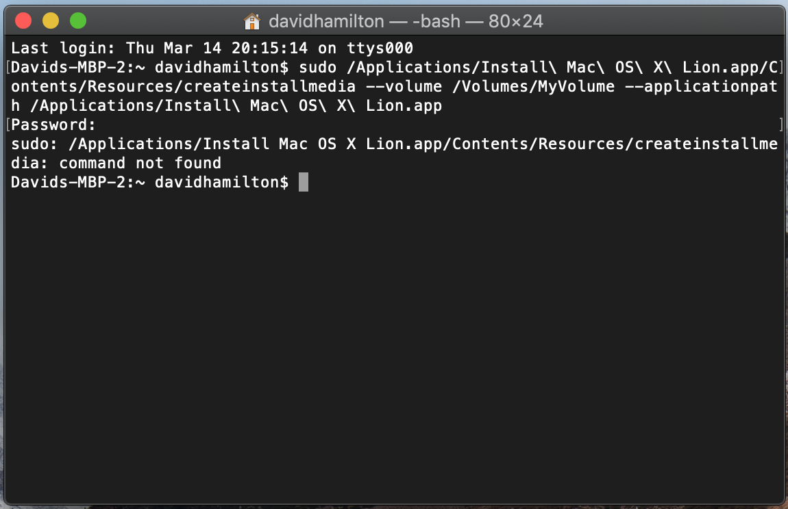 How to Create OS X Lion \ OS X Mountain L… - Apple Community