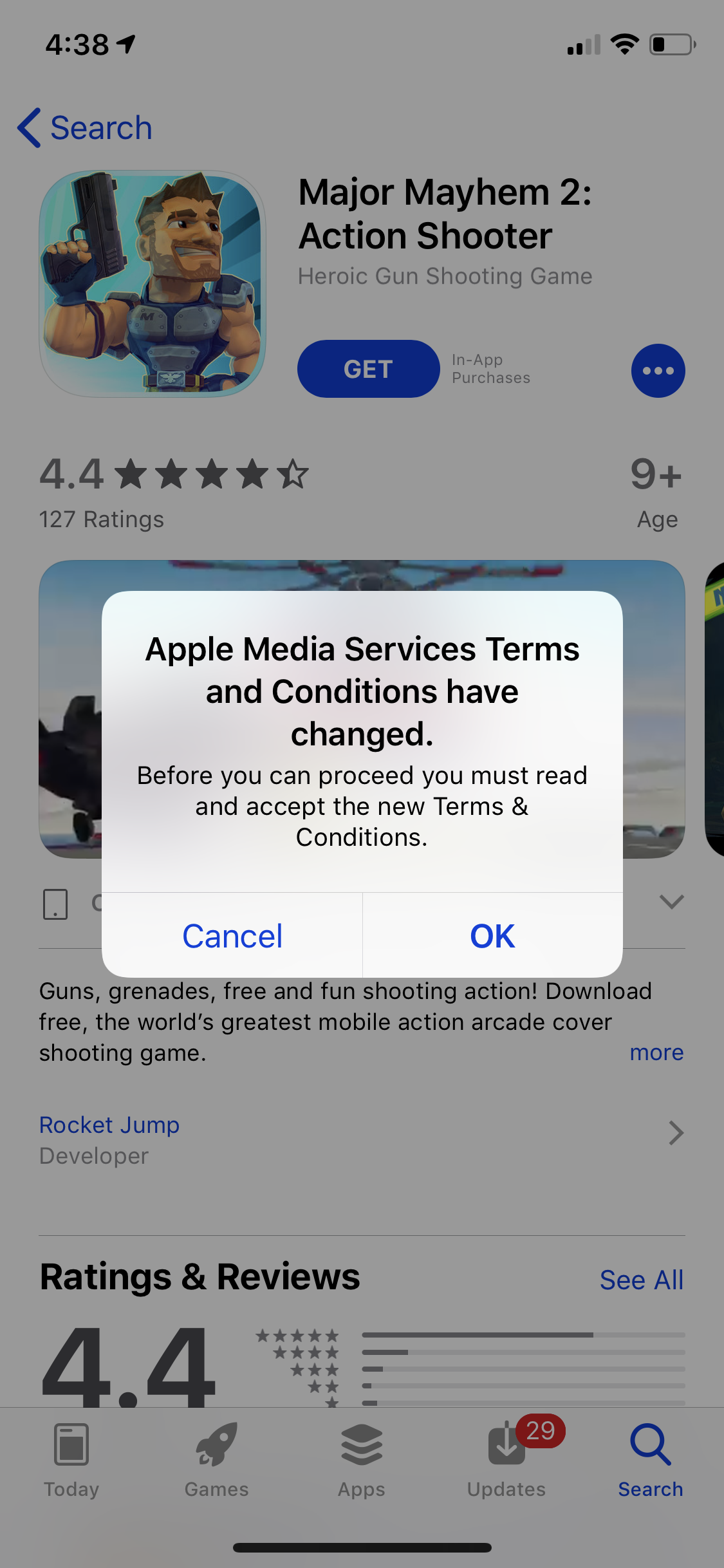 i cant download apps on iphone