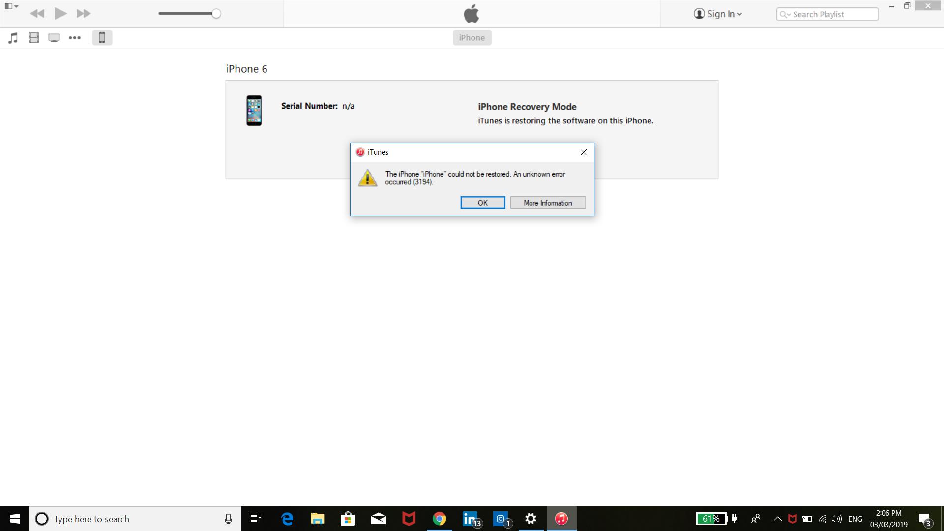 Iphone 6 restart - Apple Community