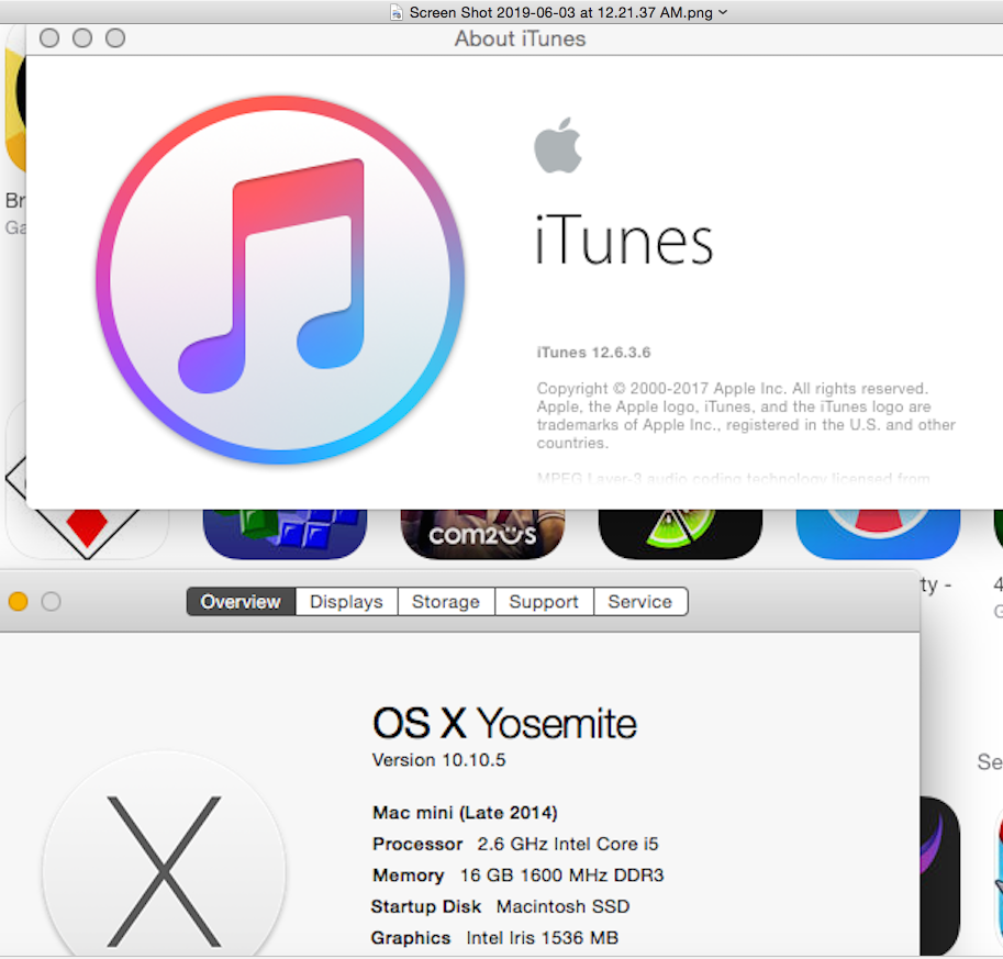 itunes download mac 10.10.5