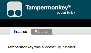 Tampermonkey - Apple Community